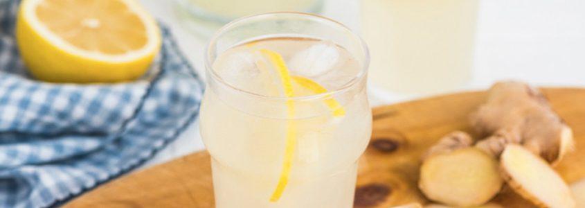 BIBO fizz lemon ginger